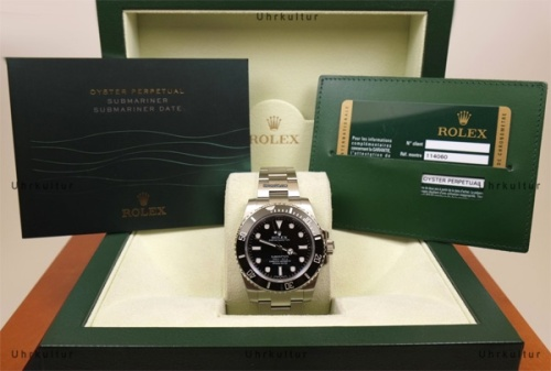 new rolex with package and certificates