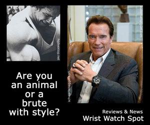 schwarzenegger_2014 arnold animal brute style wrist watch black red oak offshore
