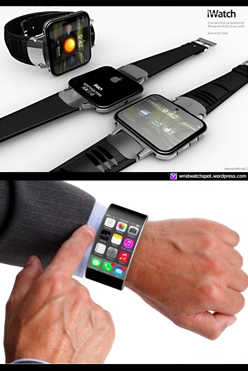Apple-iWatch-Wearable 2013 itime smart watch phone tim cook