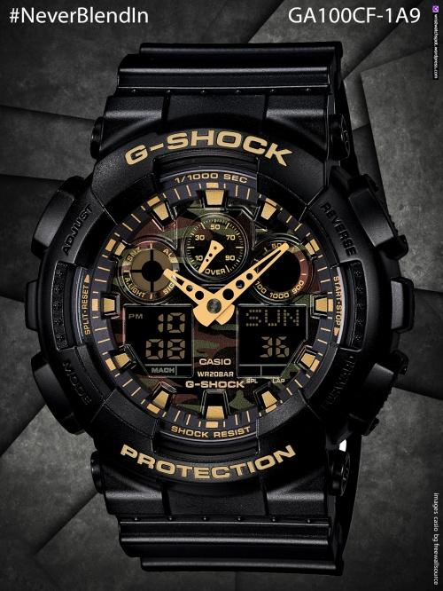 ga100cf-1a9_g-shock   #NeverBlendIn  gd120cm-4, cd120cm-5, gd120cm-8, gdx6900cm-5, cdx6900cm-8, stealth, camo