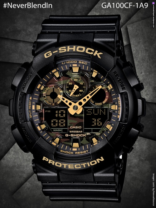 ga100cf-1a9_g-shock   #NeverBlendIn  gd120cm-4, cd120cm-5, gd120cm-8, gdx6900cm-5, cdx6900cm-8, stealth, camo