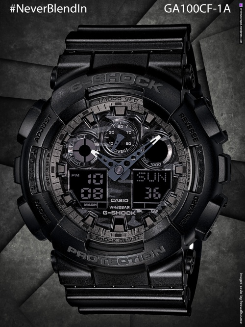 ga100cf-1a_g-shock #NeverBlendIn  ga100cf-1a8, ga100cf-8a, gd120cm-4, cd120cm-5, gd120cm-8