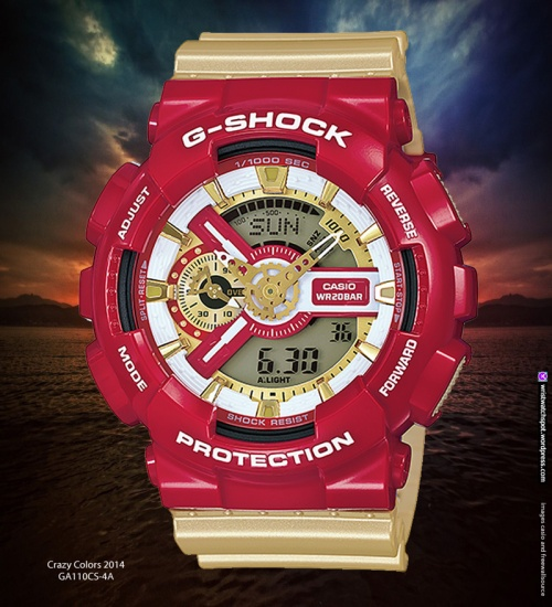 g8900cs-3, g8900cs-8, ga100cs-7a, ga100cs-9a, ga110cs-4a, crazy colors, s series, g-shock watch, 2014, fashion, style