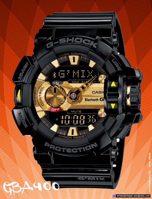 gba400-1a9_g-shock_black-gold smart watch casio 2014
