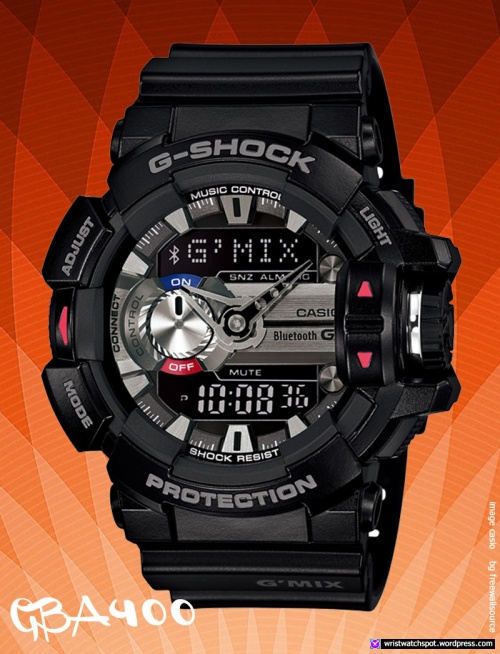 gba400-1a_g-shock_black-silver smart watch casio