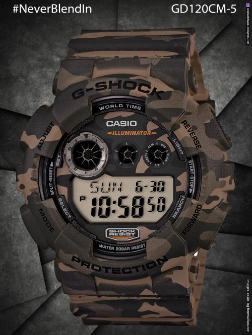 GA100CF-1A, ga100cf-1a8, ga100cf-8a, gd120cm-4, cd120cm-5, gd120cm-8, gdx6900cm-5, cdx6900cm-8, stealth, camo, g-shock watch, #NeverBlendIn