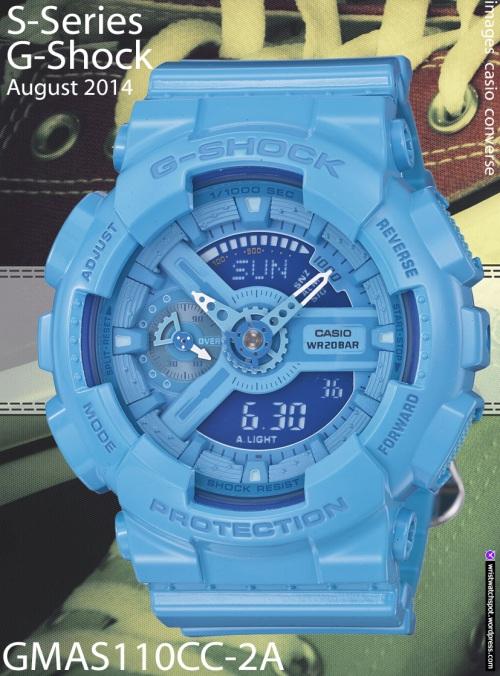 gmas110cc-2a, gmas110cc-3a, gmas110cc-4a, gmas110hc-1a, gmas110hc-2a, gmas110cc-6a,  g-shock watch blue