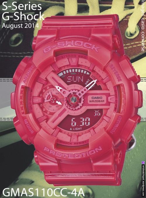 Women S Fashion G Shock S Series Wrist Watch Spot