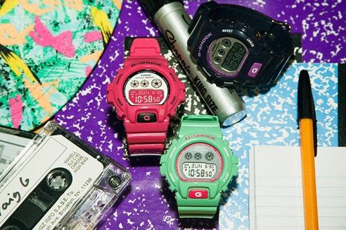 GMD-S6900CC new unisex womens ladies pink green purple watch
