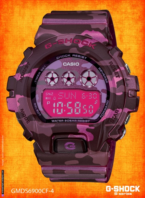gmds6900cf-4_g-shock watch gmds6900cf-4_g gmad6900sm-1,  gmad6900sm-4,  gmad6900sm-9, s series, small g-shock, womens fashion style, 2014
