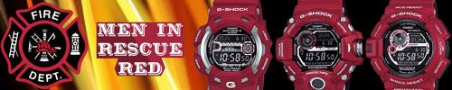Gulfman GW9110RD-4, Rangeman GW9400RD-4, Mudman GW9300RD-4 , men in red rescue,