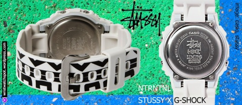 back view stussy watch g-shock limited edition special 2014 dw5600