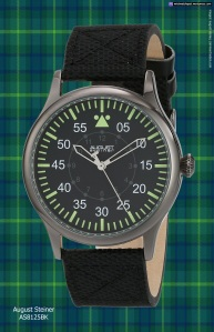 swiss watch black green august_steiner_as8125bk_201