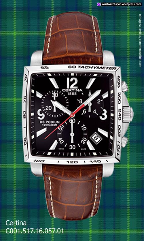 C001.517.16.057.01_certina_swiss watch fine square chrono