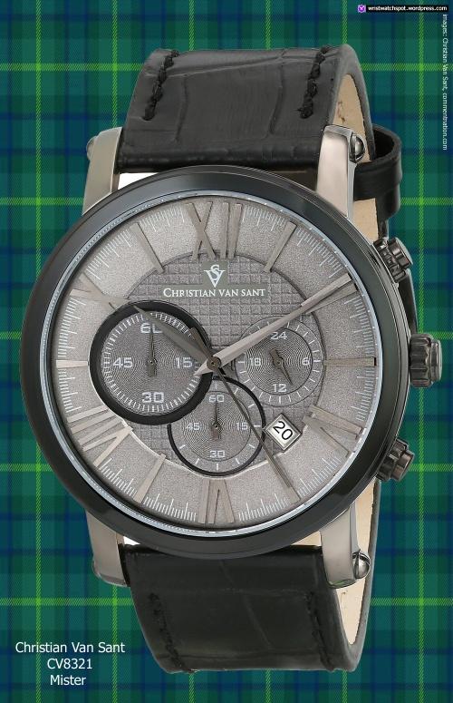 CV8321_christian_van_sant fashion watch gray black