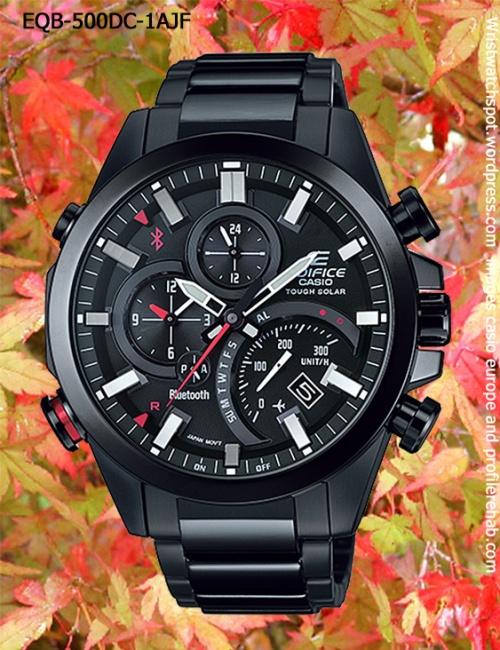 EQB-500DC-1AJF_edifice_2014 new bluetooth smart watch smartphone