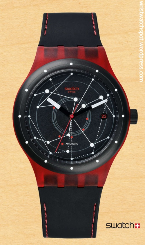 swatch switzerland swiss watch sistem red sutr400 sistem51 $150