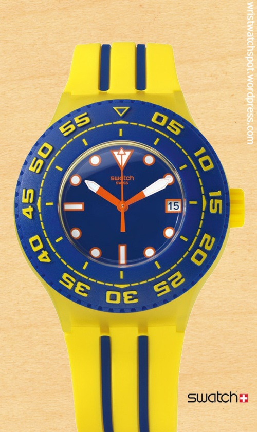 playero suuj400 scuba $90, swatch switzerland swiss watch
