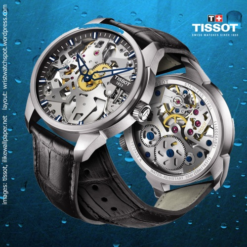 T0704051641100 t-complications squelette watch $1950, tissot swiss switzerland,