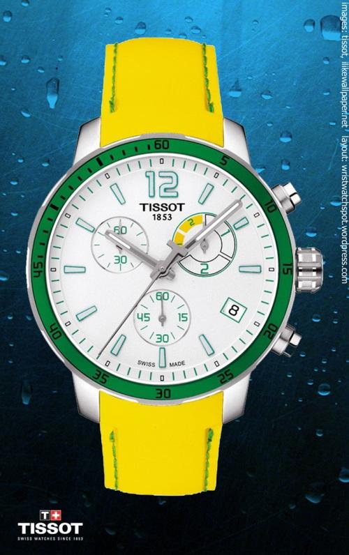 stainless steel  watch $375, T0954491703701 quickster chrono football $450,  T0704051641100 t-complications squelette watch $1950, tissot swiss switzerland,