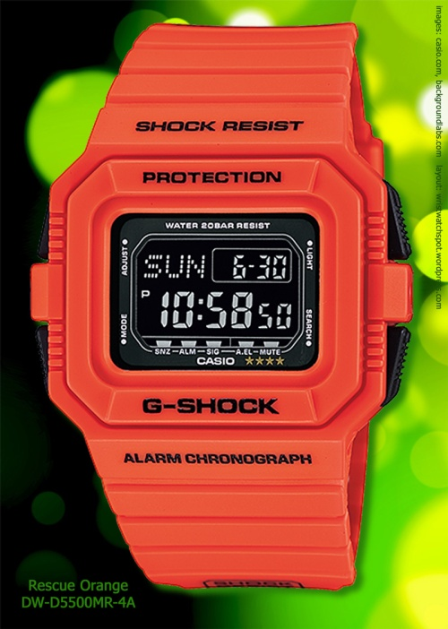 dw-d5500mr-4_g-shock watch rescue orange