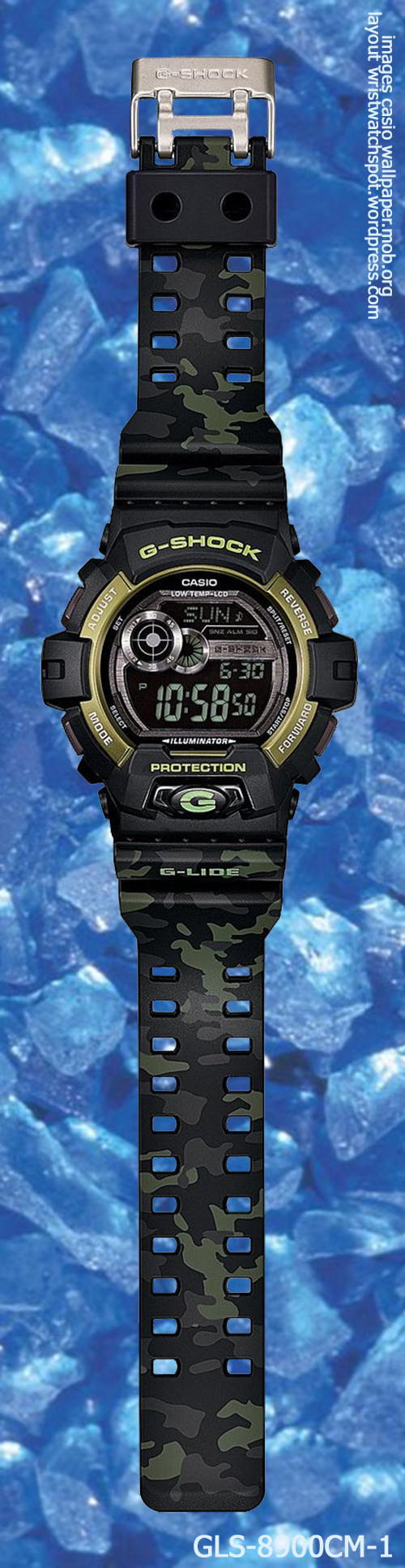 g-shock_gls-8900cm-1_front camouflage 2014 fashion sports black gold