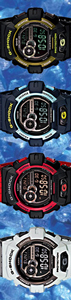 g-shock_gls-8900cm camo camouflage watch blue red gray