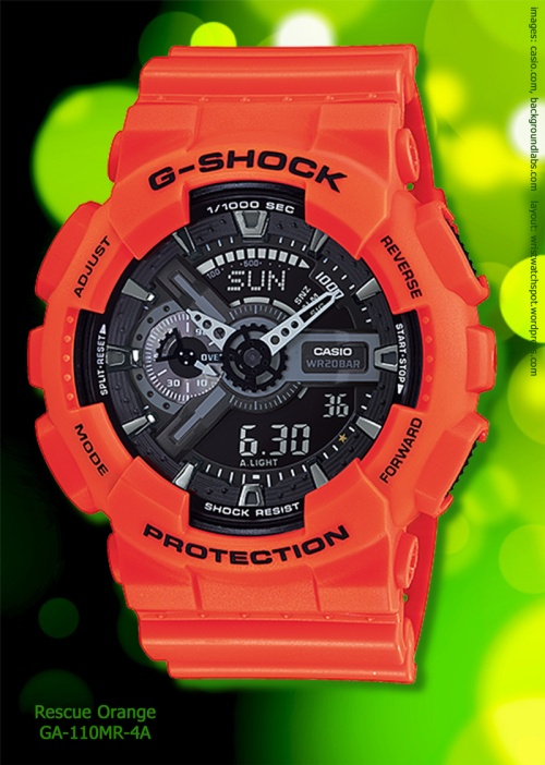 GA-110MR-4A_g-shock rescue orange watch