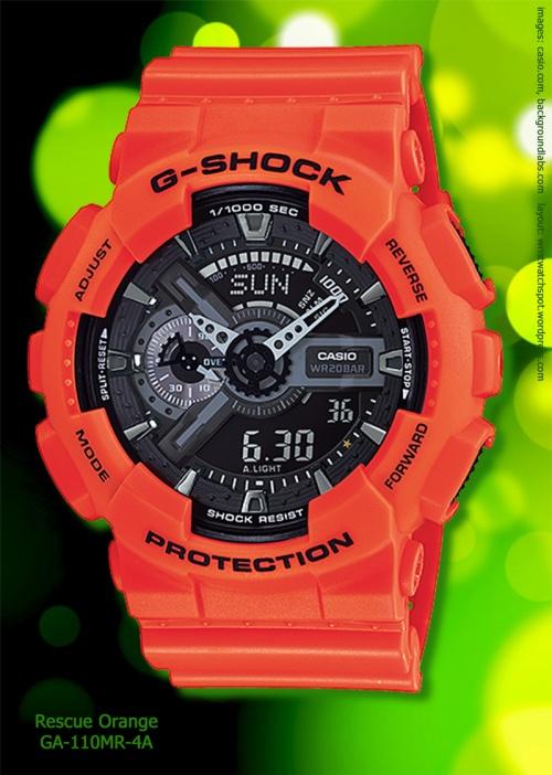 GA-110MR-4A_g-shock rescue orange watch