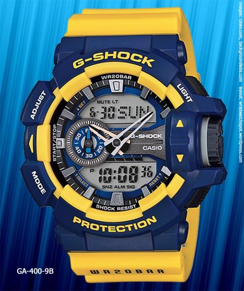 GA-400-9B_g-shock_2014_ yellow blue watch pop japanese culture