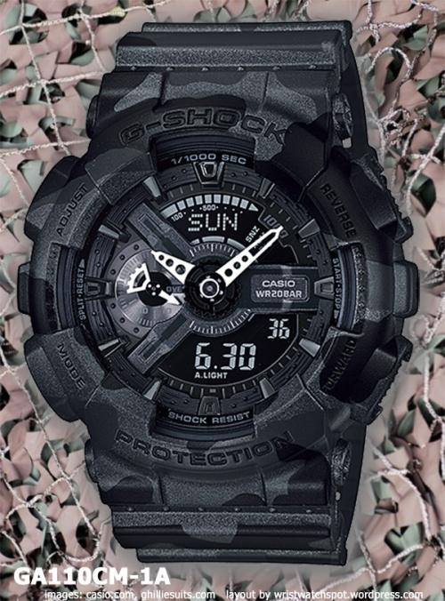 ga110cm-1a_g-shock_2014 watch black white camouflage