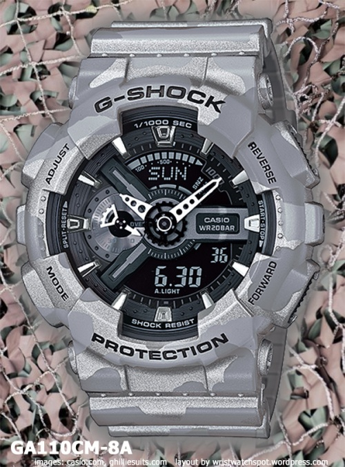 ga110cm-8a_g-shock_2014 special edition limited watch gray silver