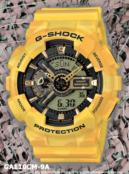 ga110cm-9a_g-shock_2014 yellow watch special edition camouflage