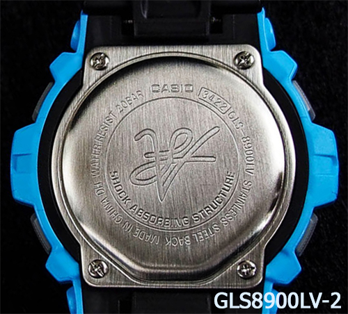 gls8900lv-2_g-shock_vito collectible watch blue back view special edition limited