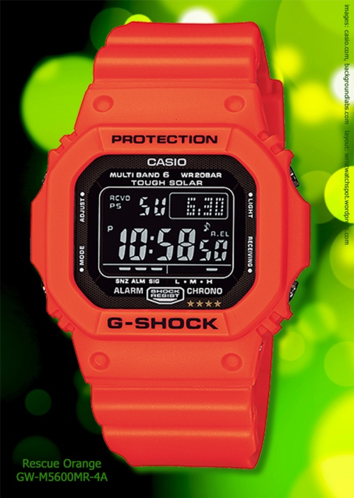 Gw5600MR-4A_g-shock watch rescue orange red