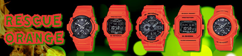 rescue_orange_g-shock awg-m100mr-4a,dw-d5500mr-4, gw-m5600mr-4a, ga110mr-4a, awg-m510mr-4a