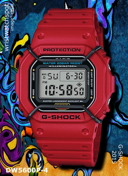 dw5600p-4_g-shock_2015, hip-hop,red, protective bars