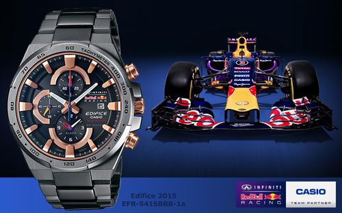 edifice_efr541srbm-1a, red bull formula one 1, racing 2015 smart