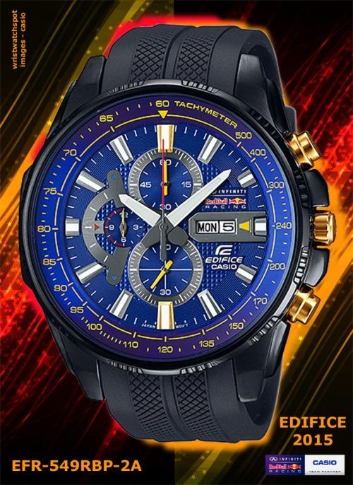 EFR-549RBP-2A_edifice wrist watch, red bull x, 2015 racing team, blue