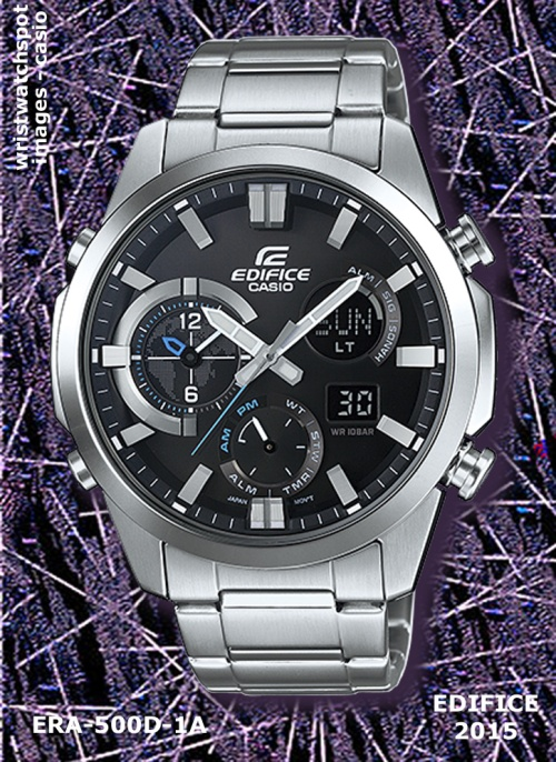era-500d-1a_edifice, wrist watch, silvertone, 2015