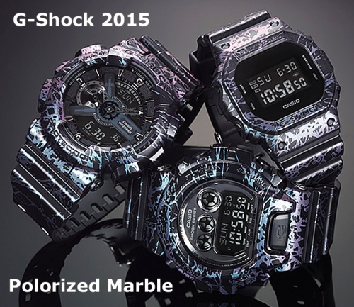 GA-110PM_g-shock, 2015 wristwatch polarized marble