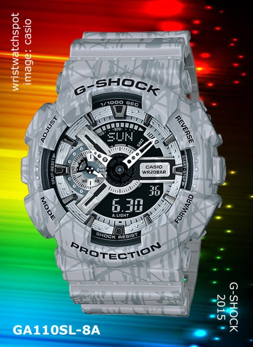 2015 g-shock watch, slash pattern, ga110sl-3a_g-shock, ga110sl-4a_g-shock, ga110sl-8a, 2015 g-shock watch, slash pattern, ga110sl-3a_g-shock, ga110sl-4a_g-shock, ga110sl-8a