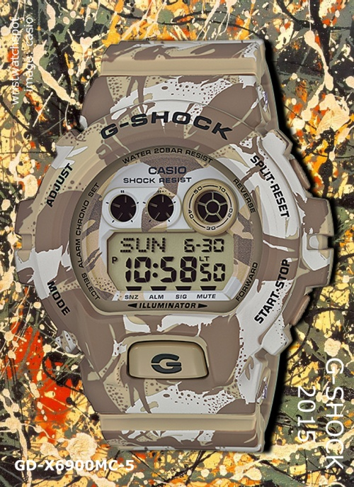 gd-x6900mc-5_g-shock, 2015 camo camouflage tan green light presidential nomination