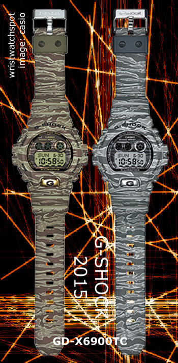 2015 tiger pattern camouflage gd-x6900tc_g-shock