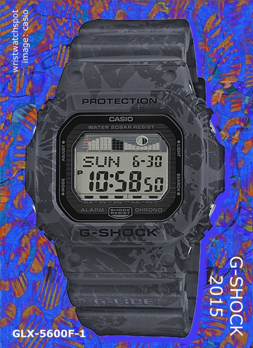 glx-5600f-1_g-shock_2015 floral Hawaiian surfer